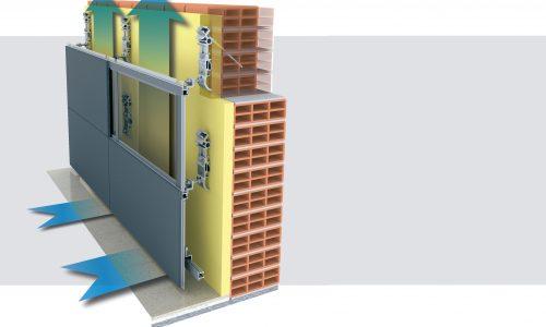 Progettazione di Facciate Ventilate per Pareti Esterne