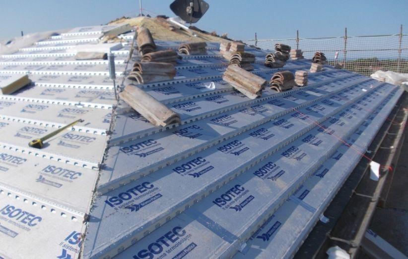 Il processo: come isolare il tetto